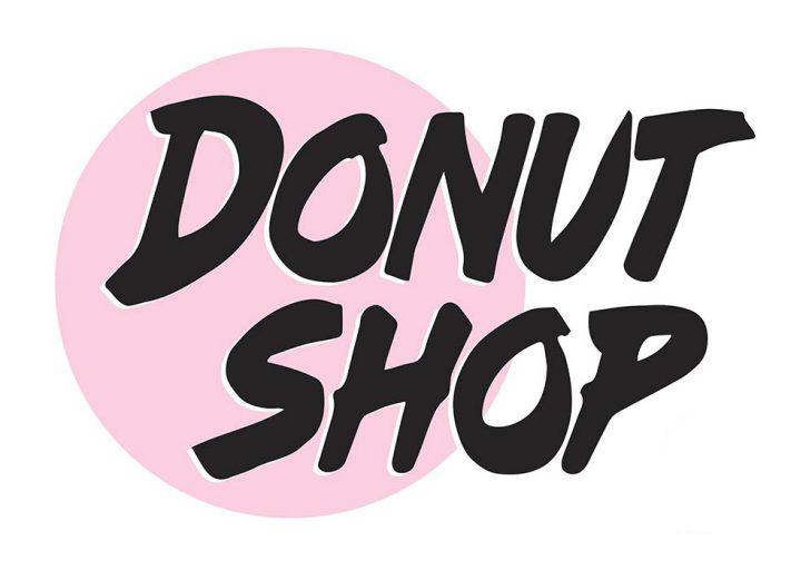 Donut Shop Design Logo